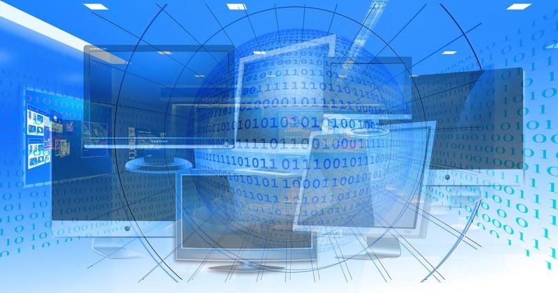 multiple computer screens